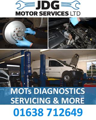 JDG Motor Services Ltd