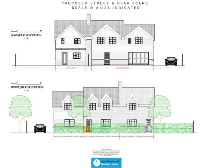 Large Two Storey Extension, conservation area - Culford Suffolk