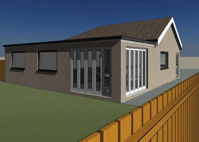 Single Storey Extension 3D Visual - Mundford Norfolk