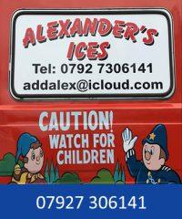 Alexander's Ices