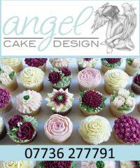 Angel Cake Design