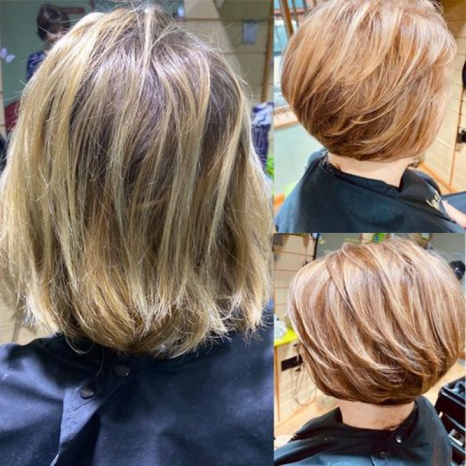 Perm/Curls & Skin Fade