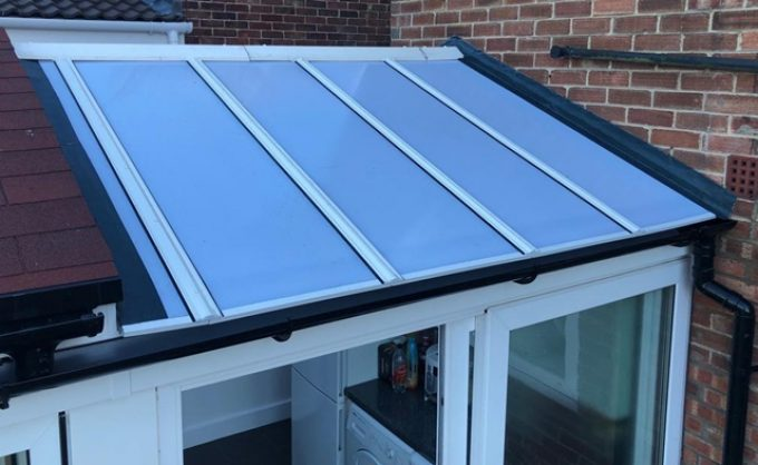 Conservatory/Guardian warm Roof Conservatory (including base); £1.8K