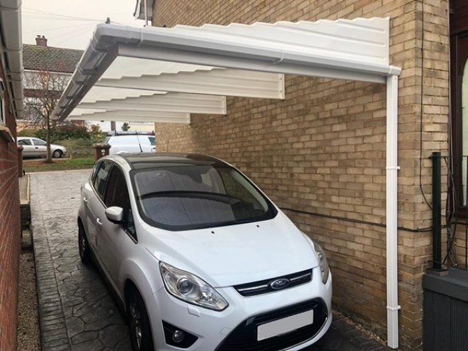 Cantilever carport £2.5k