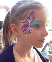 Painted Peacock (Face Painting & Glitter Artist)