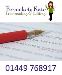 Pernickety Kate Proofreading & Editing; Editorial/writing services