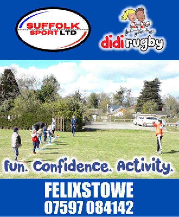 Suffolk Sport Ltd – Didi Rugby – Felixstowe