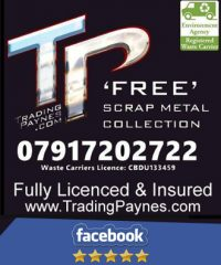 Trading Payne's Free Scrap Metal Collection