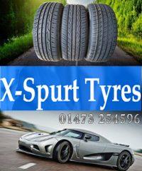 X Spurt Tyres