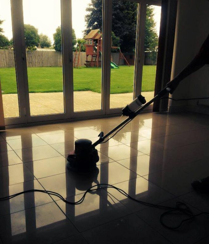 Service: Floor maintenance 4 x 4 metre area  Approx time: 1.5 hours
