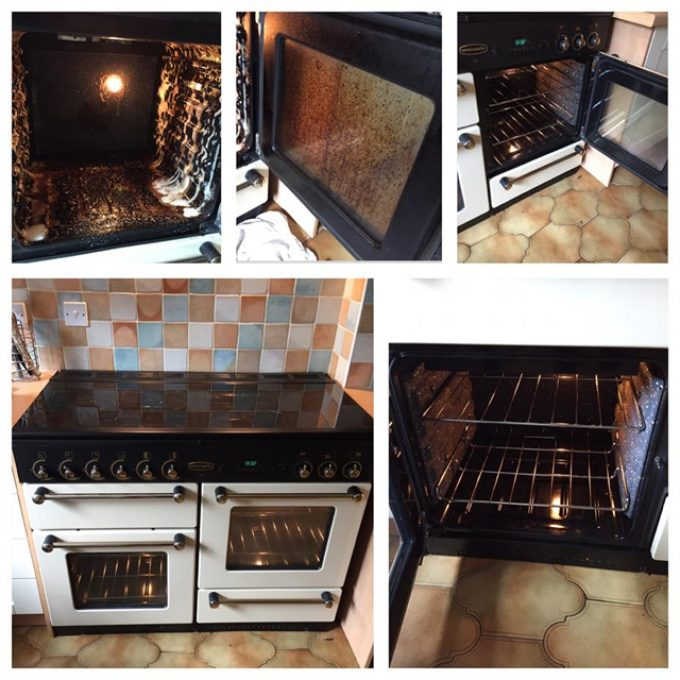 Service: Standard oven clean  Approx time: 2 hours